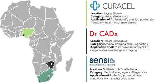 2019 AI ML Healthcare Market Map Africa