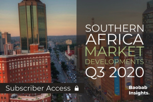 Baobab Developments: Product and Market Updates in Southern Africa Q3 2020