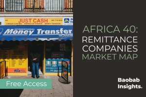 40 Remittance and Money Transfer: Africa Market Map
