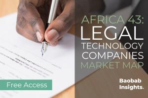 43 LegalTech Companies: Africa Market Map