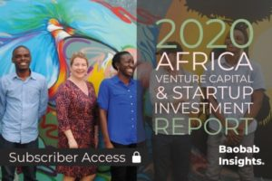 2020 Africa Venture Capital and Start-up Investment Report