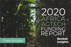 AgTech Funding 2020 - Africa Market Map