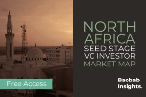 North Africa Venture Capital – Seed Stage Market Map