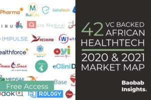 VC-Backed HealthTech in Africa – H1 2021 Market Map