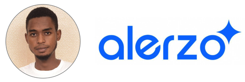 Adewale Opaleye and Alerzo Logo